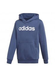 Blusa Moletom adidas Linear Essentials Azul Cf6495 Original